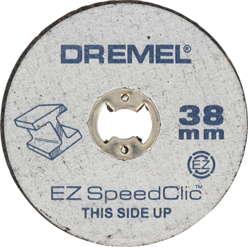 DREMEL® EZ SpeedClic: metalen snijschijven 12-pack. (SC456B)