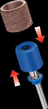 DREMEL® EZ SpeedClic: schuur opspandoorn en schuurbanden (SC407)