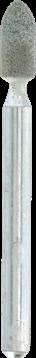 Slibesten af siliciumkarbid 3,2 mm (83322)