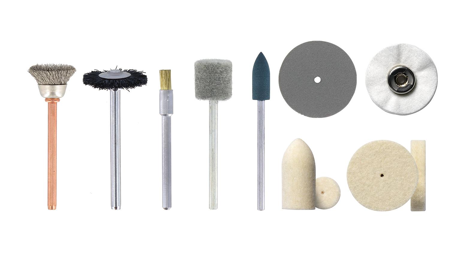 Notre fiche technique comparative vous aidera à trouver les accessoires de nettoyage et polissage adéquats.