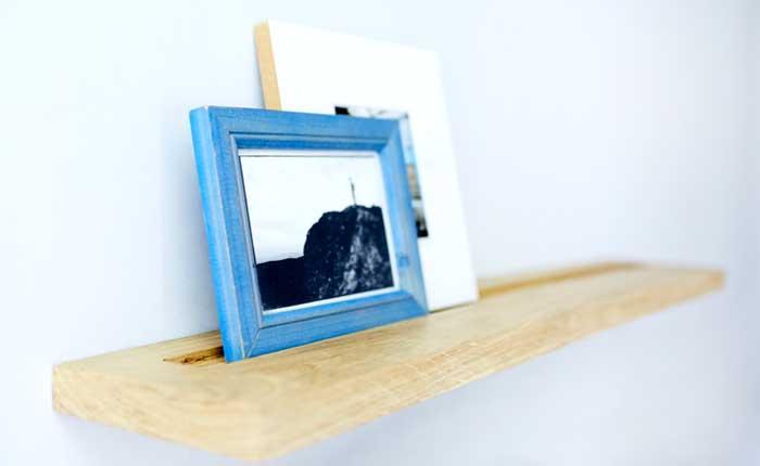 Bricolage: défoncer une étagère à fixation invisible