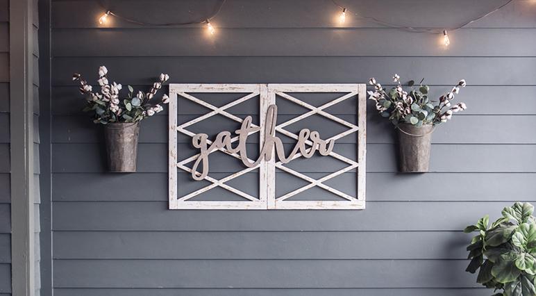 Projets de ponçage inspirants: 5idées de décoration d'un mur extérieur