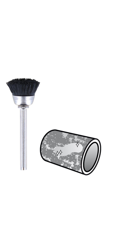 26150536JA Dremel Brass Brush grey