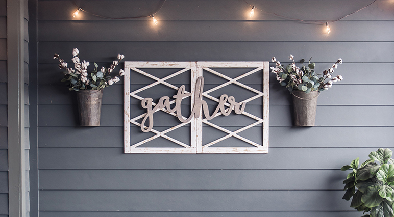 Inspiring Sanding Projects: 5 Ideas for Outdoor Wall Decoration
