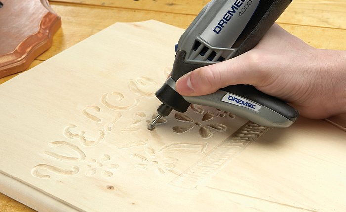 The Dremel Detailer's Grip Attachment gives you more control over the Multi-Tool and keeps it balanced too.