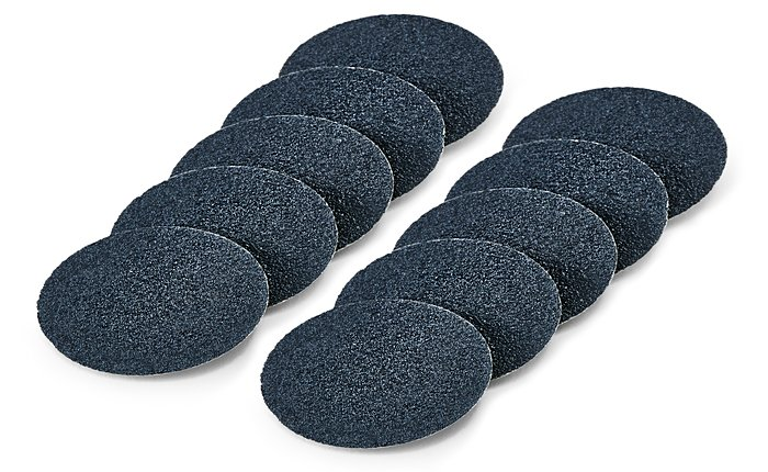 Dremel's EZ SpeedClic Pet Nail Grooming Discs come in two grit numbers: 60 and 240.