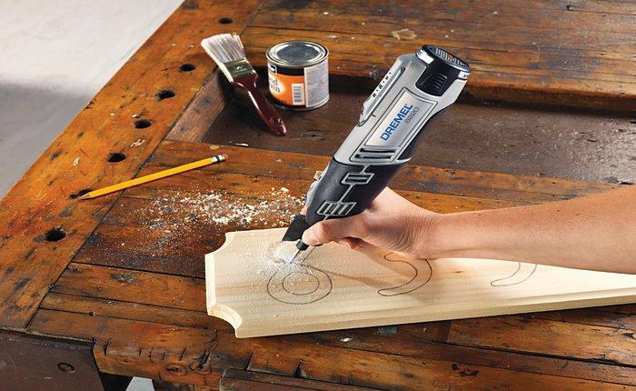 Kézműves és igényes kézzel készített barkács ajándékokhoz használd a Dremel multifunkciós szerszámot.