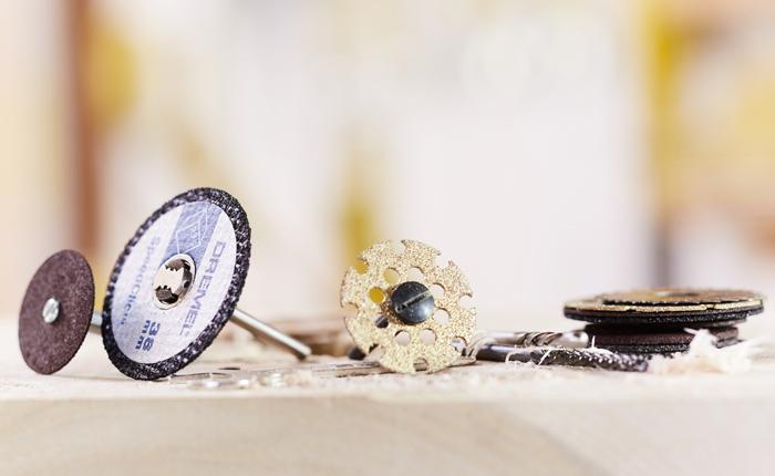 Kies het juiste snij-accessoire voor je oppervlak.