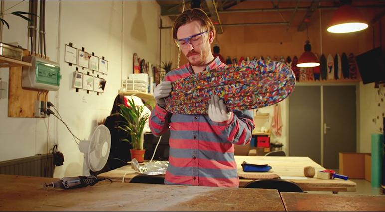 """Creatorul"" Jonathan Morrison Wasteboards"