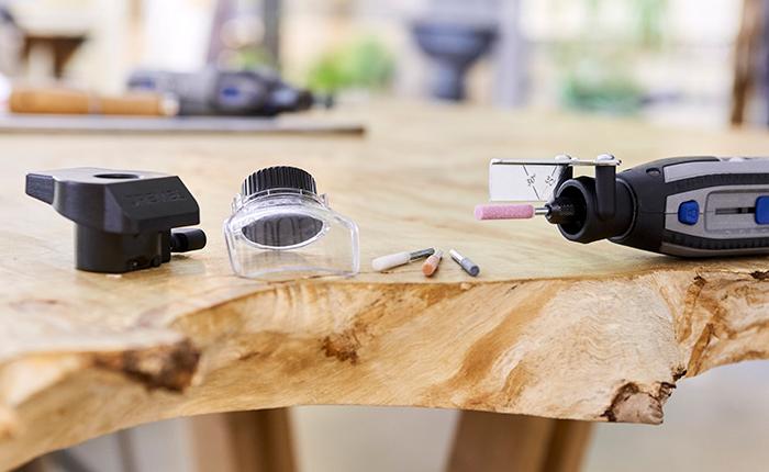 Dremel'in kullanışlı bağlantı parçaları ürün yelpazesiyle projeniz hayallerinizdeki gibi sonuçlanacak